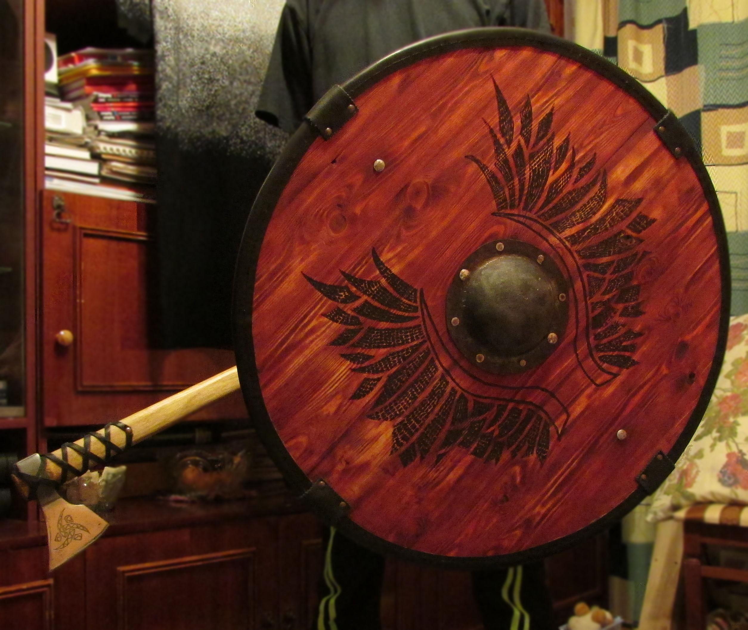 Изготовление фанерного щита » SwordMaster 348
